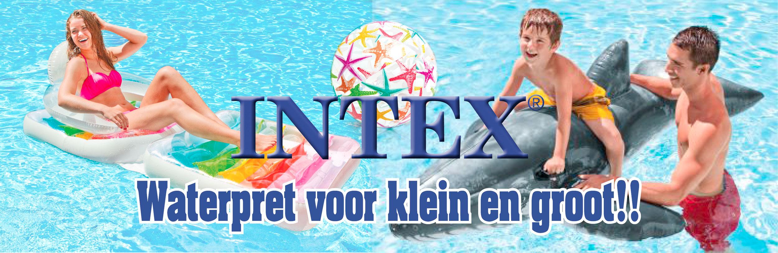 Intex Waterpret voor klein en groot!!